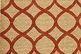Home Garden Hardware 36506 Geo 18x30'' Printed Coir Doormat,Natural,Small