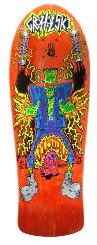 Vision Groholski Frankenstein Reissue Skateboard Deck, Orange, 10.25 x 31.25-Inch