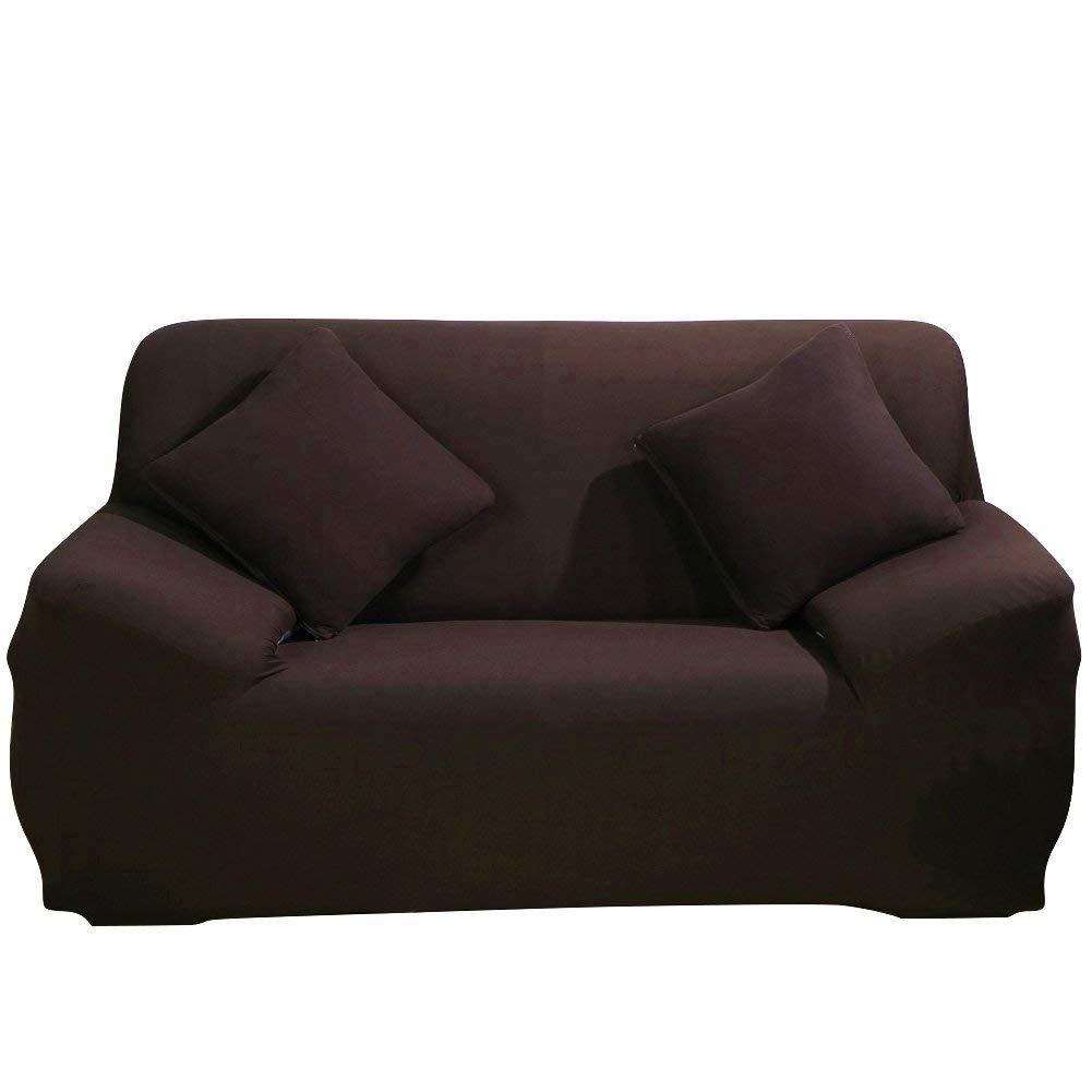 1 Place Home Comfort Housse de canap/é 1 2 3 4 Places en Tissu /élastique Bleu