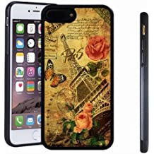 iphone 7 8 Plus case, SoloShow(R) Slim Shockproof TPU Soft Case Rubber Silicone for Apple iphone 7 8 Plus [Butterfly]