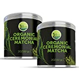 x oz day programs natural - 2 Pack uVernal WellBeing Organic Ceremonial Matcha - Best Taste - USDA Organic -Energy Booster - Green Tea Powder 2oz
