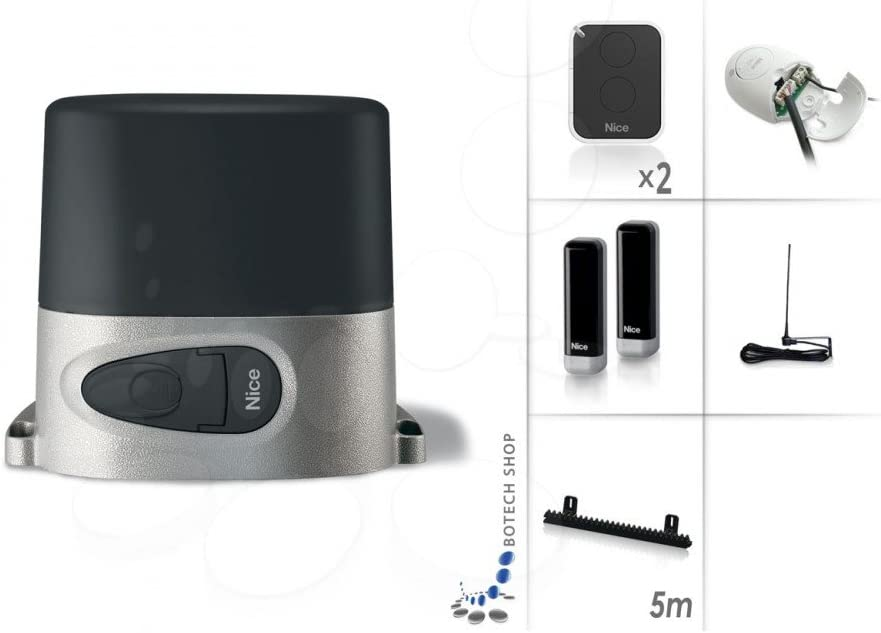 Puerta Corredera Nice Robo 1000 (Set M): Amazon.es: Iluminación