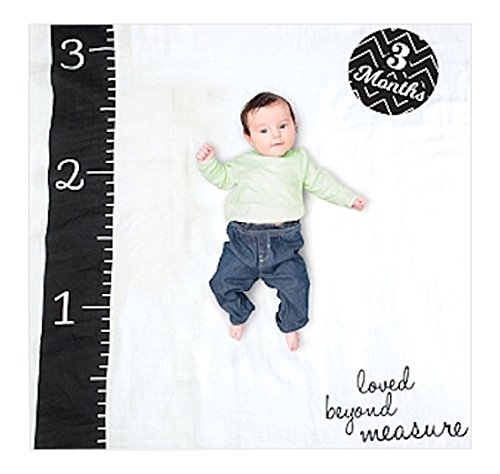 lulujo Baby Milestone Blanket Measure