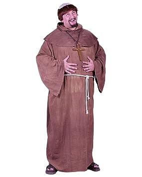 Horror-Shop Disfraz de monje monacal XL