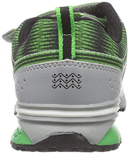 Geox J Bernie B - Zapatos para chico Verde (GREEN/LT GREYC3266)