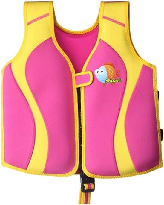 ZYJbf Kids Swim Vest Toddler Swimsuit Kids Swim Training Aid Jacket Vest Baby Float Toddler Floating Swimsuit Kids Life Jacket for Boys and Girls 2-9 Years Safety Learn to Swim DeviceXL-Ocean Blue