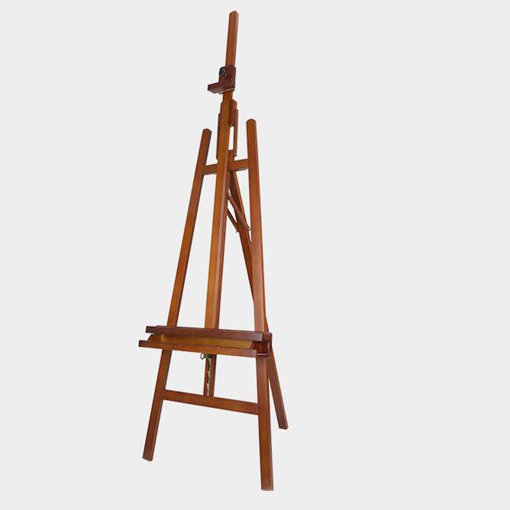 Djyyh 多機能の純木のイーゼル、調節可能なマルチアングル、屋内での使用に適した、クルミ色   B07RWQ7SV1