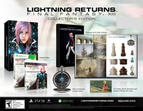 Lightning Returns Final Fantasy XIII Collector's Edition - Xbox 360