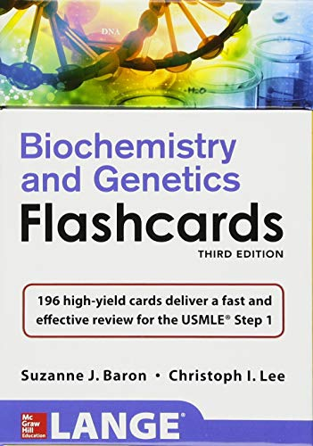 Lange Biochemistry and Genetics Flashhcards, Third Edition (Lange Flashcards)