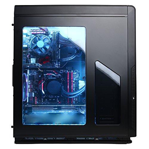 CYBERPOWERPC Pro Streamer PSi100 w/ Intel i5-6600K 3.5GHz CPU, 16GB DDR4, NVIDIA GTX 970 4GB, 2TB HDD, 128GB SSD, Win 10 Home 64-Bit & Streamer i3 Server