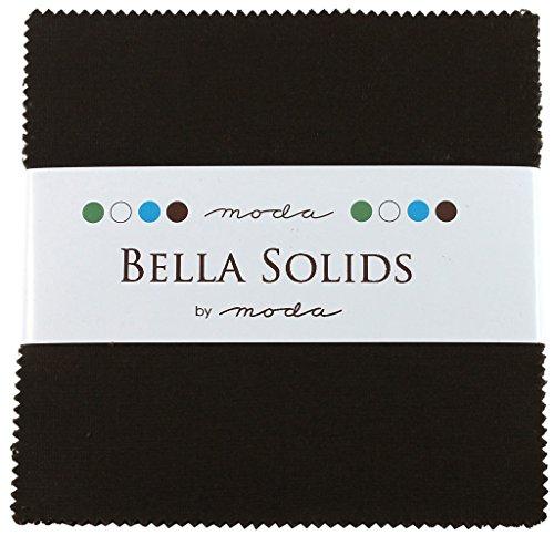 Moda Bella Solids Brown 9900PP-71 Charm Pack 5