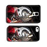 Carpenter with Circular Saw cell phone cover case Samsung S5
