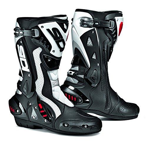 White Motorbike Boots - 1