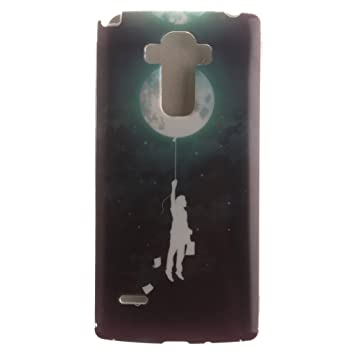 LG G4 Stylus Funda, LOOCOO TPU Funda de Silicona de Gel Carcasa Tapa Case Cover para LG G4 Note LS770, HC03