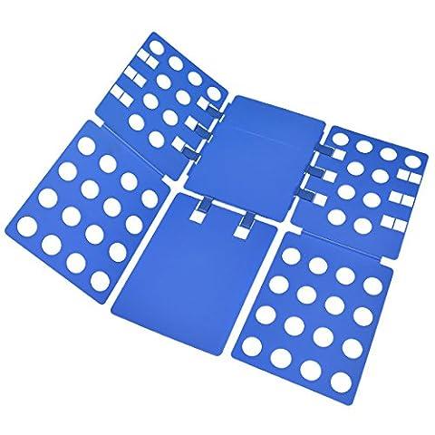 BoxLegend Plastic Adjustable Clothes Folding Board, 23 x 27.5-Inch, Blue - Moo Mixer