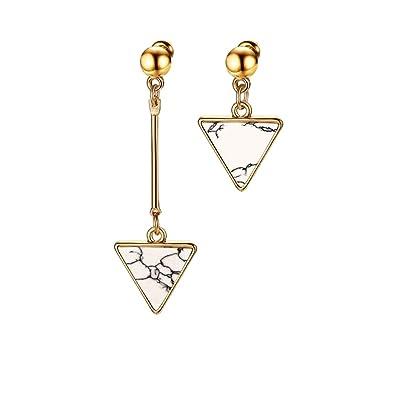 Qiyami Earrings Sencillos Joyería Pendientes Regalos Navidad ...