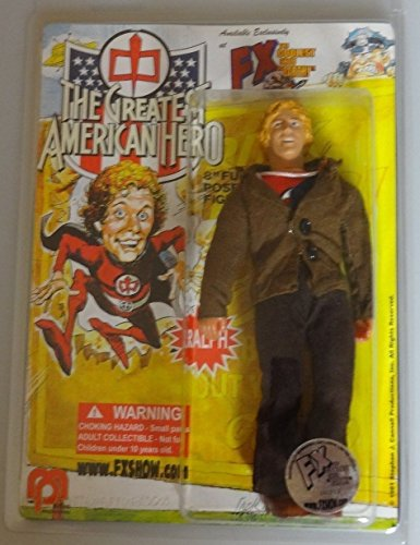 The Greatest American Hero Alter Ego Secret Identity Outfit Ralph Hinkley/Hanley As Portrayed By William Katt Mego Style 2007 FX Show Exclusive 8