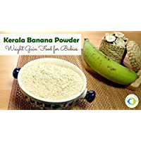 Worth2Deal Kerala Special 400g Organic Banana Powder HYGIENICALLY Prepared,A Complete Natural Baby Food,Prepared with Specially Chosen Banana
