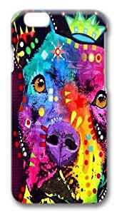 the thoughtful pitbull crowned PC Case Cover for iphone 6 plus and iphone 6 plus 5.5 inch 3D