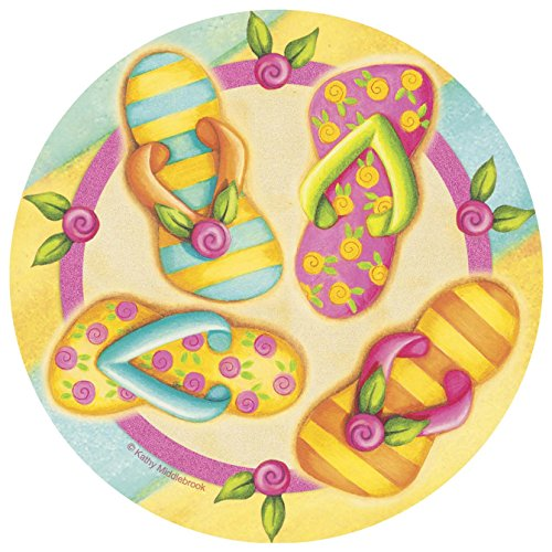 Thirstystone 4-pc. Colorful Flip Flop Coaster Set