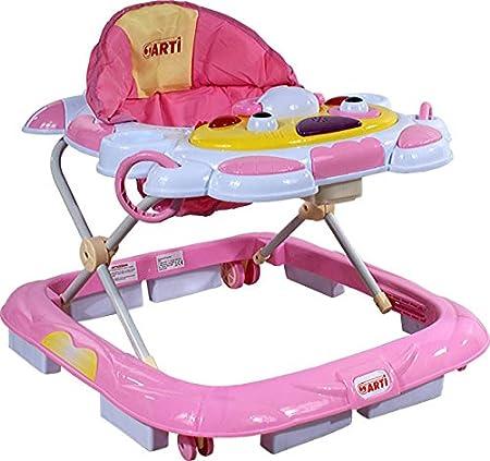 Babywagen Babywalker Laufhilfe Lauflernhilfe Blau ARTI Kuh 05H