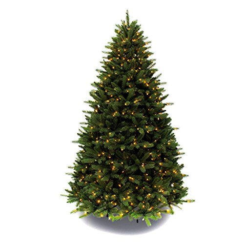 Artificial Christmas Tree. Fake 7.5 Foot Xmas Green Fir Tree With Densely, Lush Foliage. It's Classic Pine Shape Looks Neat & Natural. Great For Indoor, Holiday Season Party Decor & Festive Mood. by Artificial-Christmas-Tree