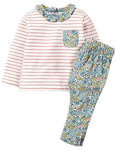Fiream Girls Autumn Cute Print Long Sleeve Clothing Set(142TZ,3T) from Fiream