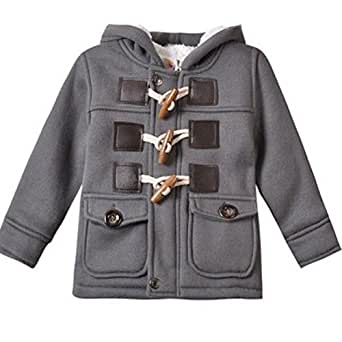 Amazon.com: Baby Boy Warm Winter Horn Button Outerwear