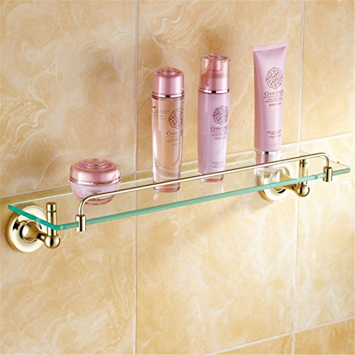 LAONA All copper antique European style gold bathroom fittings, toilet paper rack, towel rack,Rack 1 by LINA bathroom accessories (Image #1)