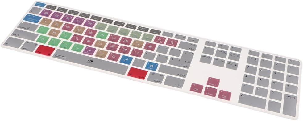Homyl Keyboard Anti Dust Cover Skin Cover For Apple Mac MacBook G6 Ableton Live