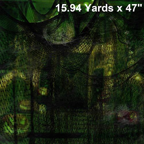 Halloween Cubicle Decoration (Moon Boat 15.94 Yards x 47