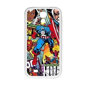 Captain America Super Heros White Samsung Galaxy S4 case