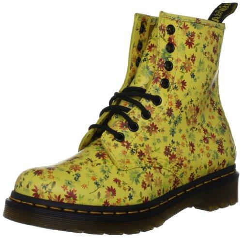 Yellow 1460 Martens 11821751 Yellow Dr Little Flowers Giallo sun Stivaletti Donna Hgwq6CZ