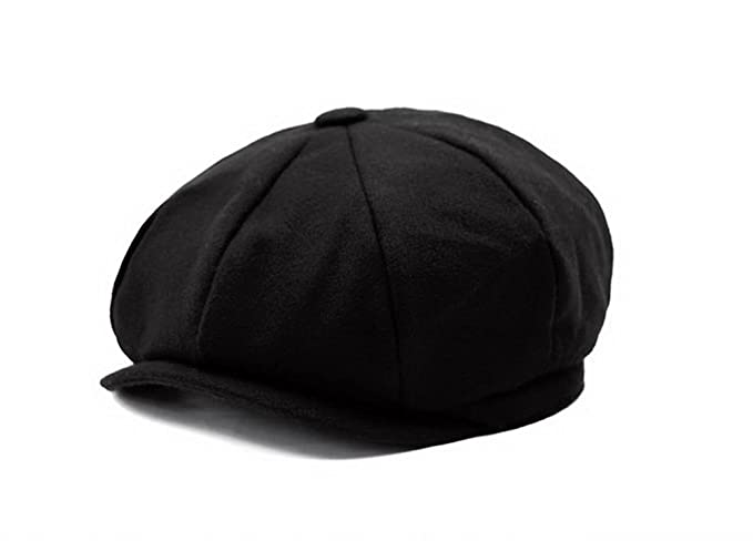 100% Wool Blank 8 Panel Newsboy Cap Hat at Amazon Men s Clothing store  87b3d01fb656