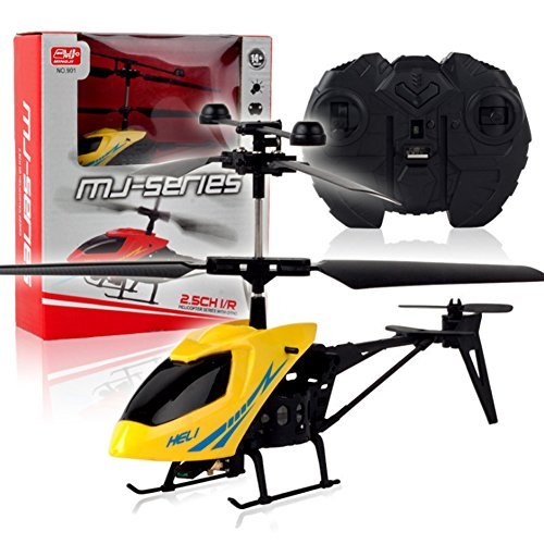 Sixsons 2CH Mini RC Helicopter Remote Control Aircraft Radio Electric Micro 2 Channel ()
