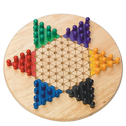 Chinese Checkers (Chinese Checkers Board Wood)