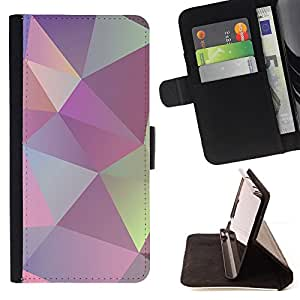 Jordan Colourful Shop - texture shapes pattern For Apple Iphone 6 PLUS 5.5 - Leather Case Absorci???¡¯???€????€?????????&A