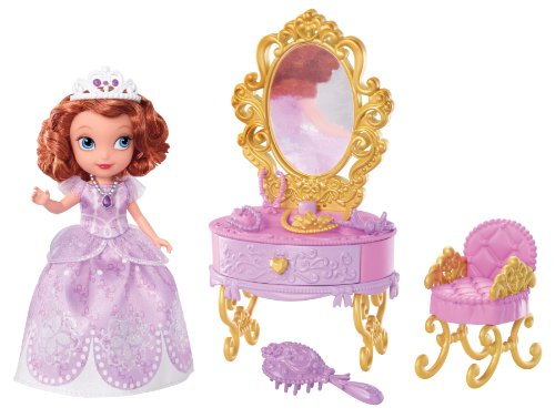 092234003834 - Disney Sofia The First Ready for The Ball Royal Vanity carousel main 5