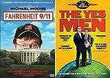 Politically Conscious Docu/Mockumentary Pack: Fahrenheit 9/11 & The Yes Men (2-Movie DVD Bundle)