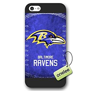 Personalize NFL Baltimore Ravens Team Logo Frosted Case For Ipod Touch 4 Cover Black Case CovBlack