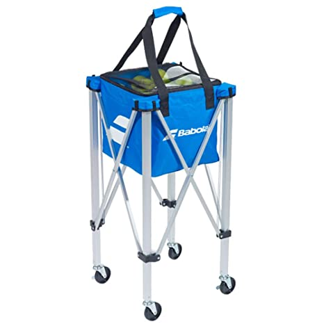 Babolat Wheeled Basket Cesto para Pelotas de Tenis, Unisex Adulto, Azur, Talla Única