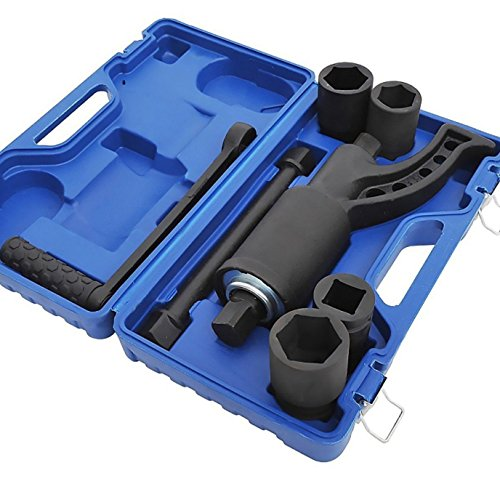 Wrench Torque Heavy Duty Multiplier Set Screwdriver Converter extension Impact Lug Nut Saving Lugnut Remover Case Blue (Cap Vw Remover Lug Nut)