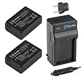 samsung nx1000 accessories - EforTek BP-1030 Replacement Battery (2-Pack) and Charger Kit for Samsung BP-1030,BP-1130 and Samsung NX200, NX210, NX300,NX500, NX1000, NX1100, NX2000
