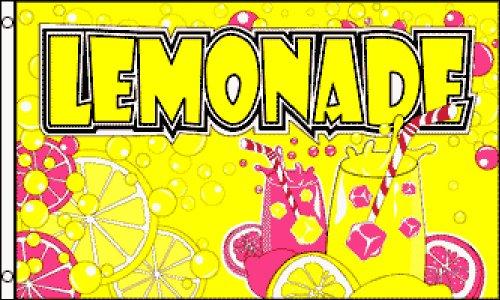 Lemonade 3x5 ft Poly Flag -