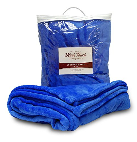 Royal Mink Blanket (Cloud Mink Touch Throw Blanket (Royal Blue))