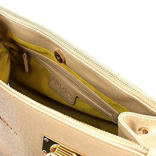 LIU JO ANNA BOSTON BAG N67085E0087 beige_beige, beige