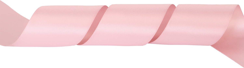 Faire n/œud Papillon Or de rose ITIsparkle Ruban Satin 50mm x 22m Environ D/écoration Pour Diy F/ête et Emballage Cadeau Mariage