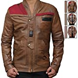 Mens Star Wars Pilot Jacket - Finn Costume Jacket Surprise Gift (M, Chocolaty) [RL-FINN-CB-M]