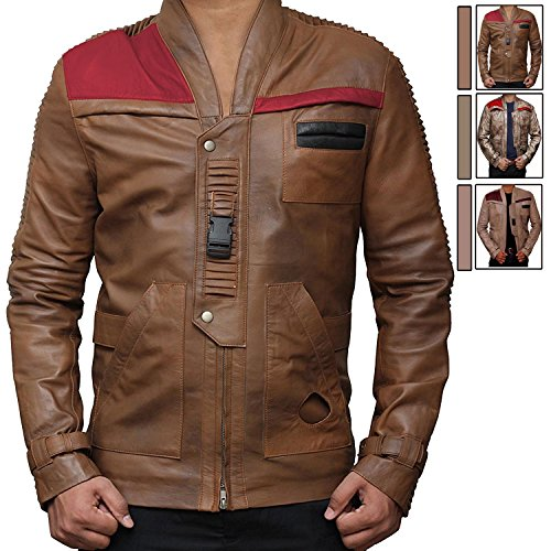 Star Wars Movie Pilot Jacket - Finn Costume Jacket ►Christmas Costume Ideas◄ (L, (Boba Fett Movie Quality Costume)