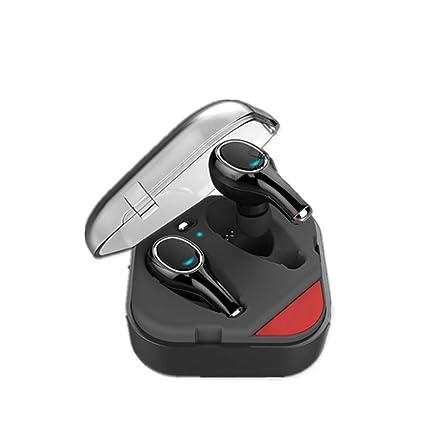 SUNLMG Auriculares Inalámbricos Auriculares Bluetooth V4.2 Mini Estéreo Auriculares Inalámbricos Bluetooth Estuche De Carga